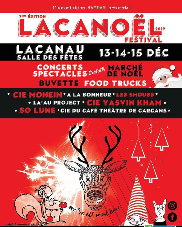 Le festival Lacanoël 2019