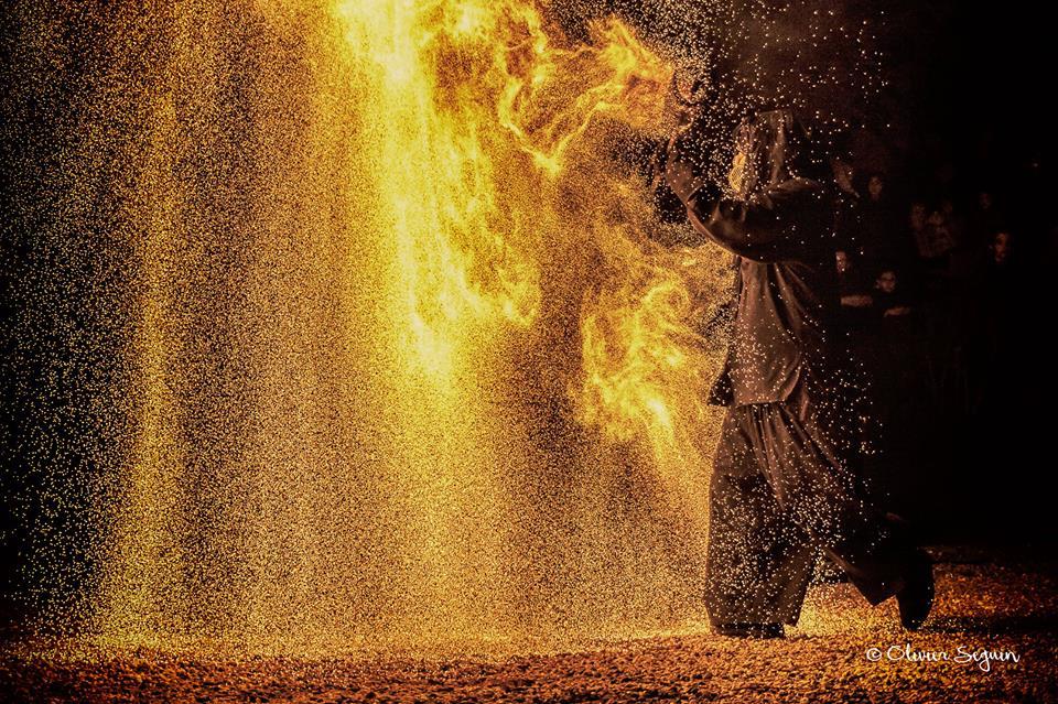Bande annonce du spectacle de feu «Pyrophonia»